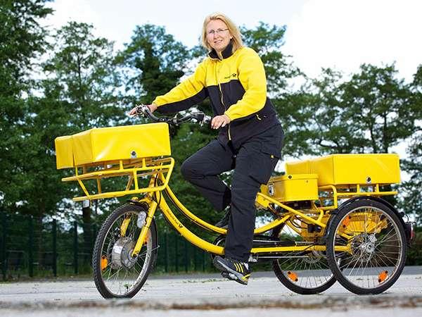 E-Trike Deutsche Post