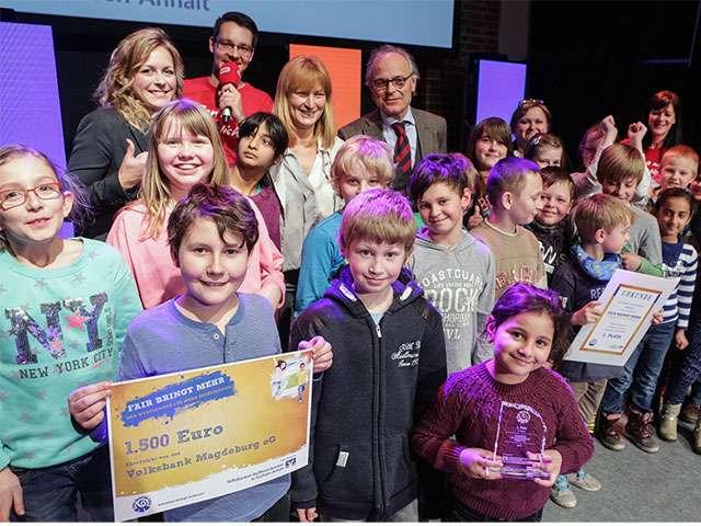 Grundschule am Umfassungsweg belegt 2. Platz beim Wettbewerb