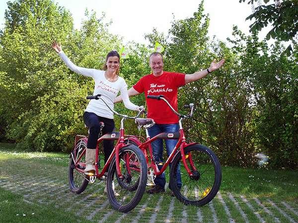 Frauke Rauner und Ted Stanetzky
