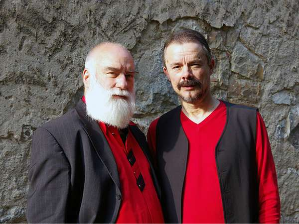 Uwe Kropinski und Ludwig Schumann