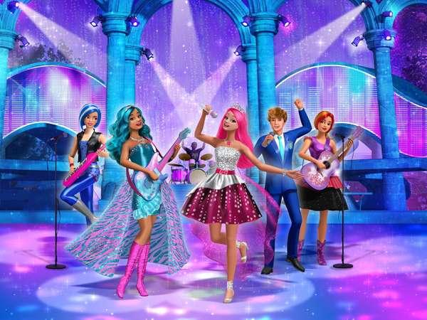 Barbie Eine Prinzessin im Rockstar-Camp