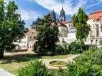 Magdeburger Dom mit Möllenvogteigarten