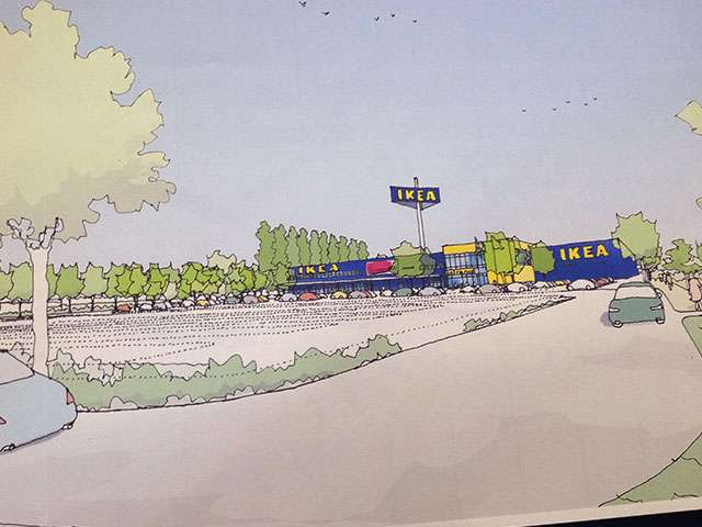 IKEA Standort Magdeburg