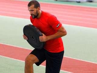 Zeljko Musa beim Training