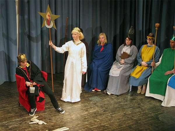 Dreikönigsspiel der Waldorfschule
