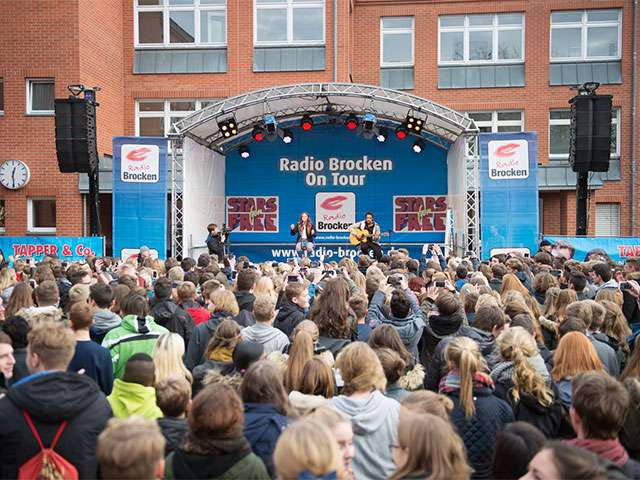 Namika Schulhofkonzert Radio Brocken