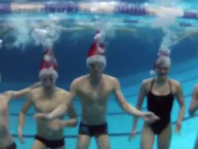 #5 KulTürchen: Schwimmer unter Wasser
