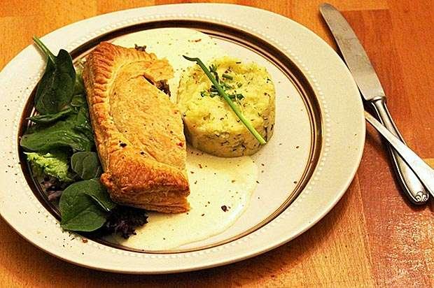 Blätterteig-Pilz-Pastete