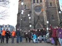 Sudenburger Meilenstein: Wunschballons