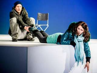 Jenny Lagner und Philipp Quest in Norway.Today