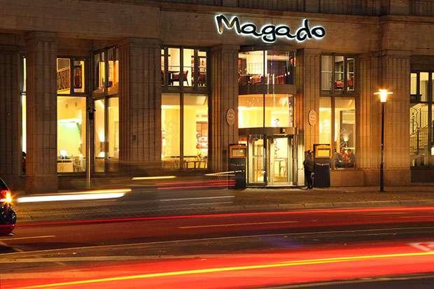 Magado Magdeburg Außenansicht