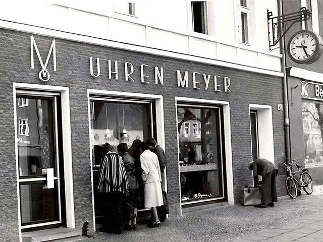 Traditionsunternehmen Uhren Meyer
