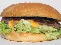 Burger vom 7th Heaven Burger