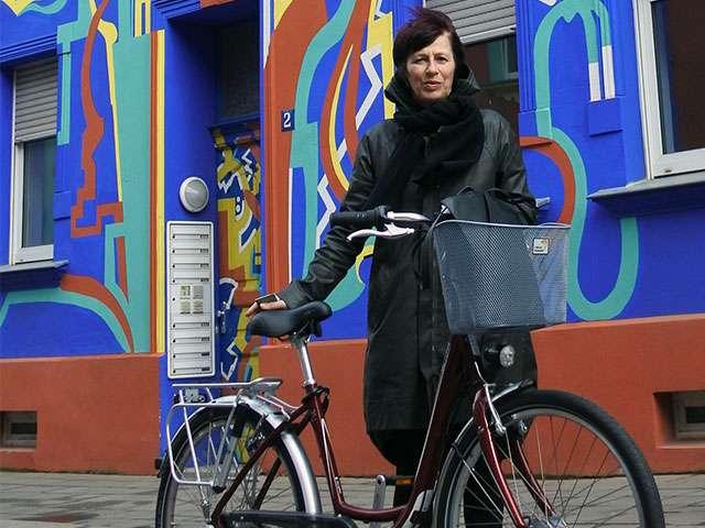 Rauf auf's Rad mit Carmen
