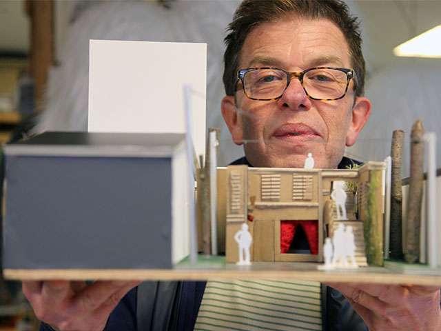 Frank Bernhardt und das Figurentheater-Festival