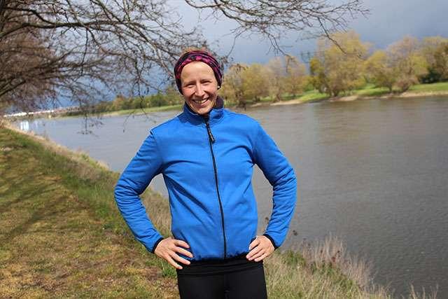 Marisa Pfeifer bereitet sich auf den Magdeburg Marathon