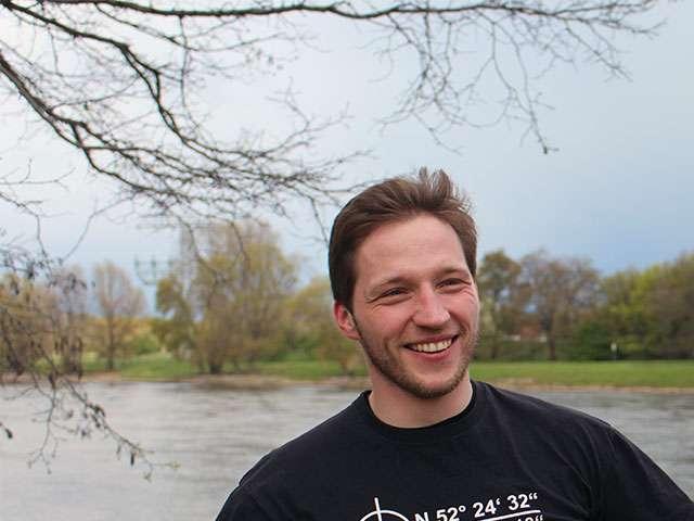 Martin Hoffmann läuft den Marathon