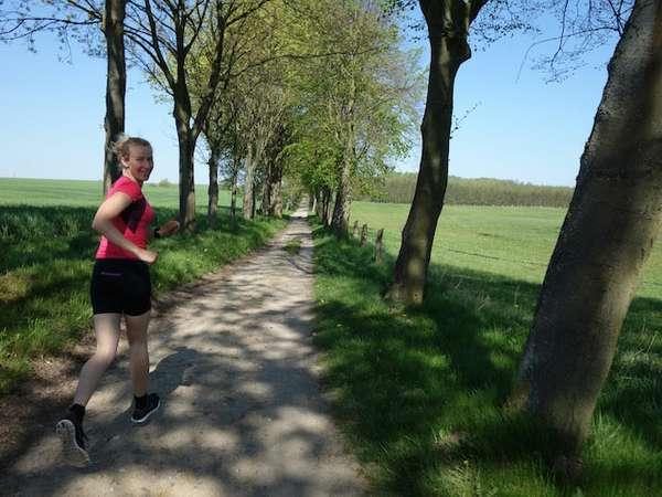 Marisa läuft in Boltenhagen