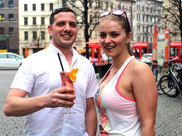 Florian Seidel und Jennifer Schmidt