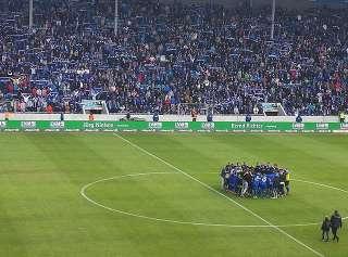 1. FC Magdeburg jubelt trotz Niederlage