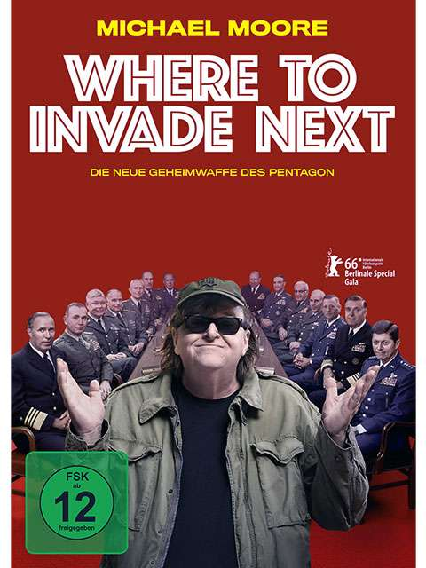 Michael Moore – Where To Invade Next