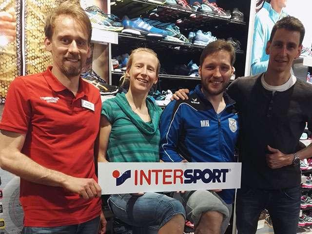 Intersport Grosse unterstützt unsere Läufer