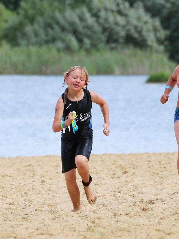 Lolas erster Triathlon