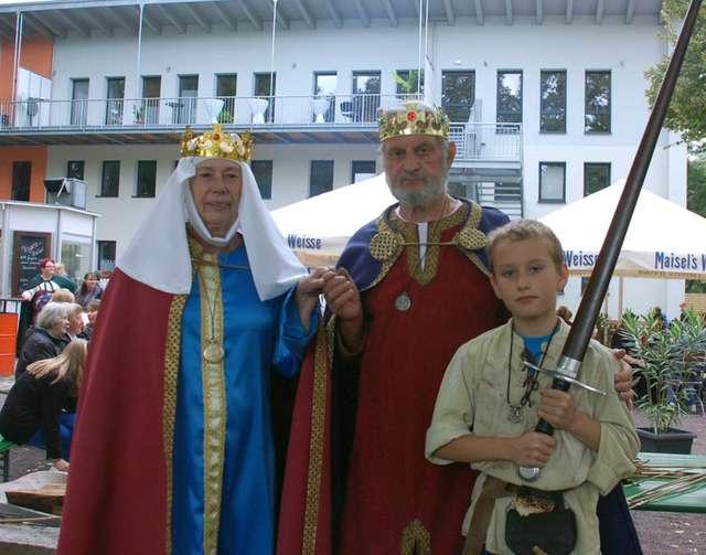 Großes Ritter-Fest im Familienhaus