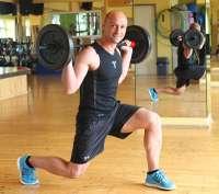 Body Pump mit Trainer Christian