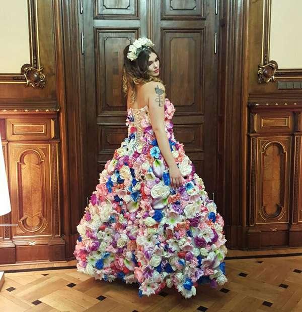 Modavision - Kleid von Designer Kenan Osmanaj