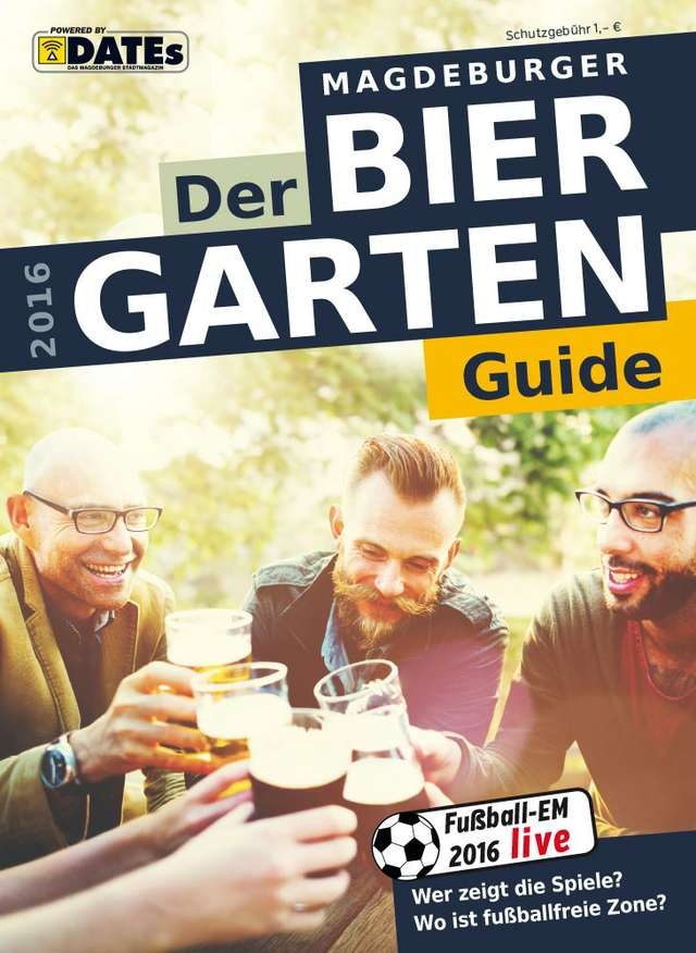 Der Magdeburger Biergartenguide