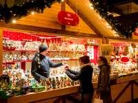 Kinderkram Händler Weihnachtsmarkt