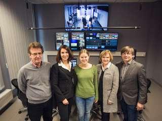Fernsehstudio Hochschule Magdeburg Stendal