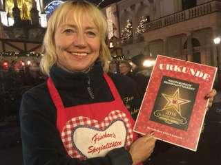 Dagmar Fischer ist Magdeburgs neue Glühweinkönigin
