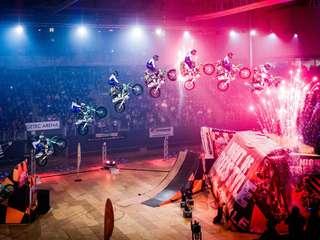 Night of Freestyle ist wieder da: Tollkühne Männer auf  ihren fliegenden Kisten