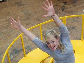 Irgendwo hinterm Regenbogen: Inga Krischke spielt die Dorothy in der Zauberer von Oz