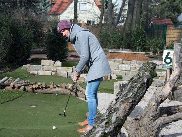 Adventuregolf im Magdeburger Zoo