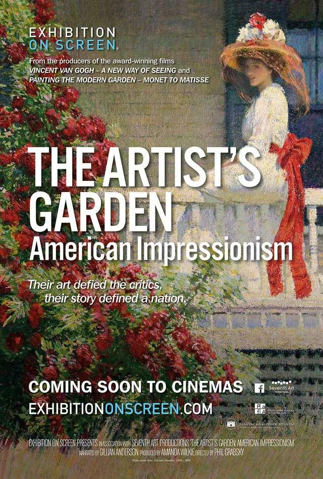 Der Künstlergarten - Der Amerikanische Impressionismus