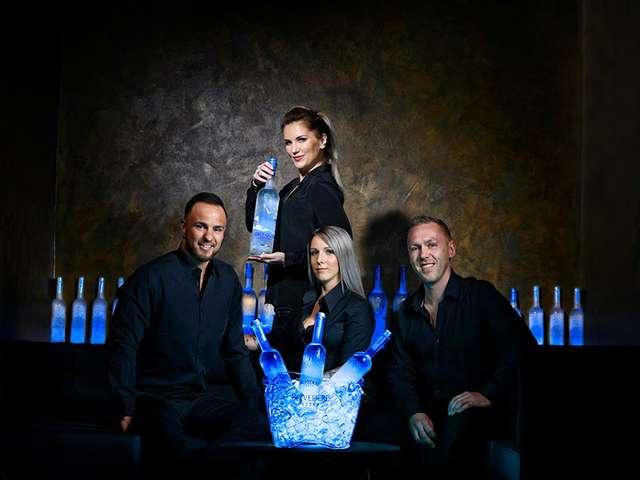 Vodkaria-Team um Inhaber Christian Ebering