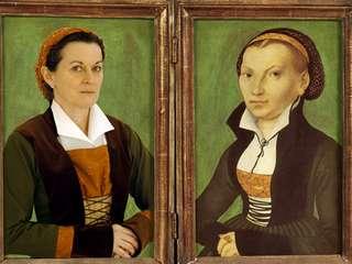 Doppelporträt Katharina von Bora