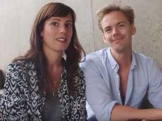 Iréna Flury und Anton Zetterholm