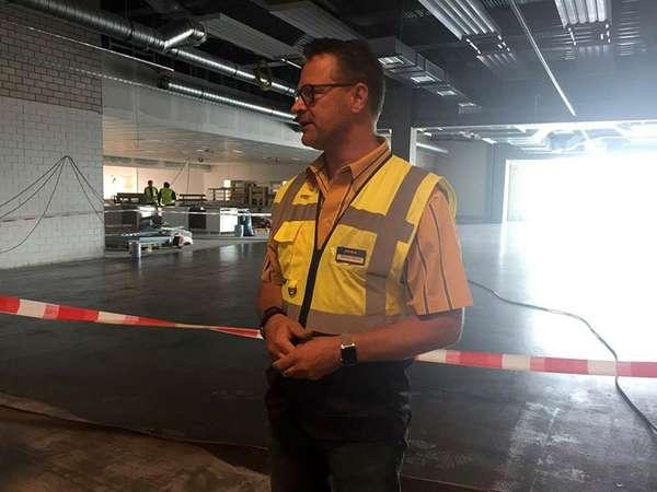 Der geplante IKEA-Restaurantbereich