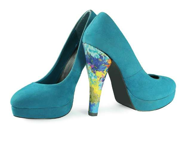 High Heel: Deep Blue by Laura Spilker
