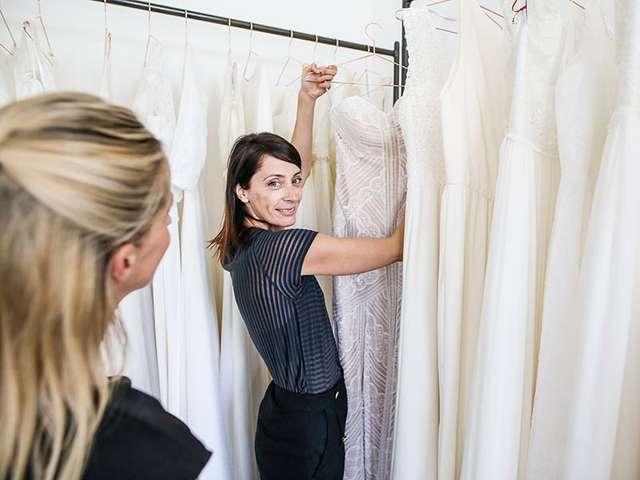 YA-Hocheitsatelier - Mandy Stappenbeck zeigt Haute Couture