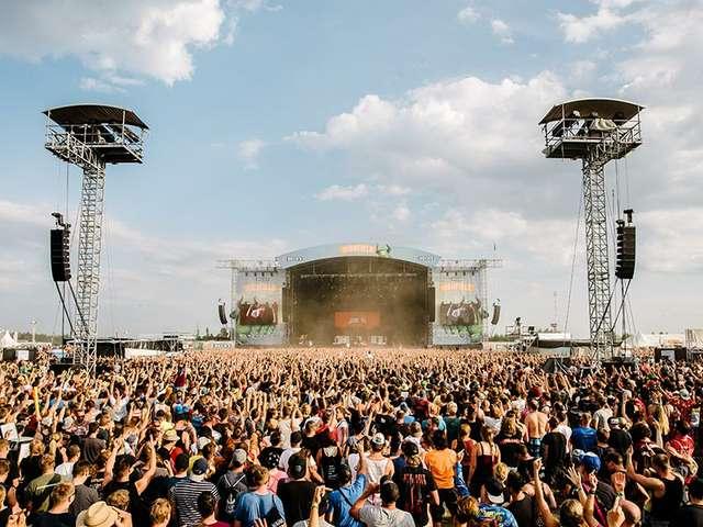 Highfield Festival - die Crowd tobt