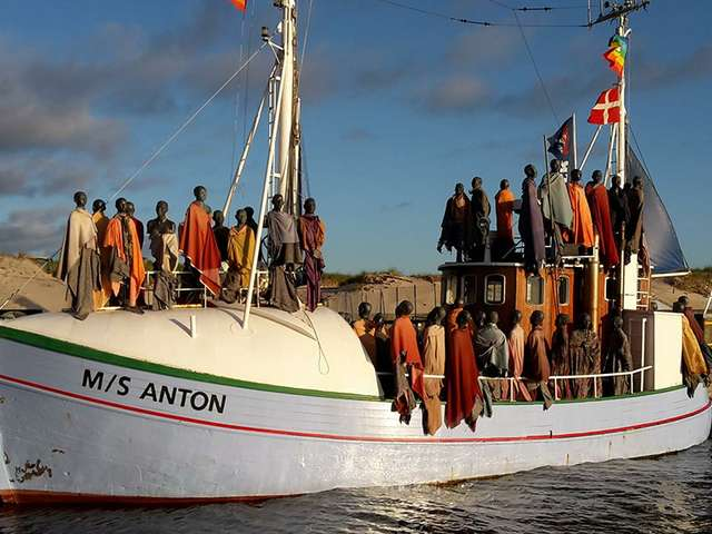 Flüchtlingsschiff MS Anton
