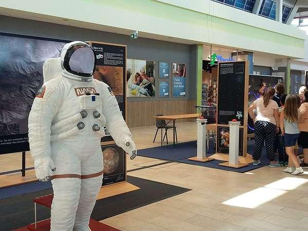 Astro Kids- interaktive Ausstellung