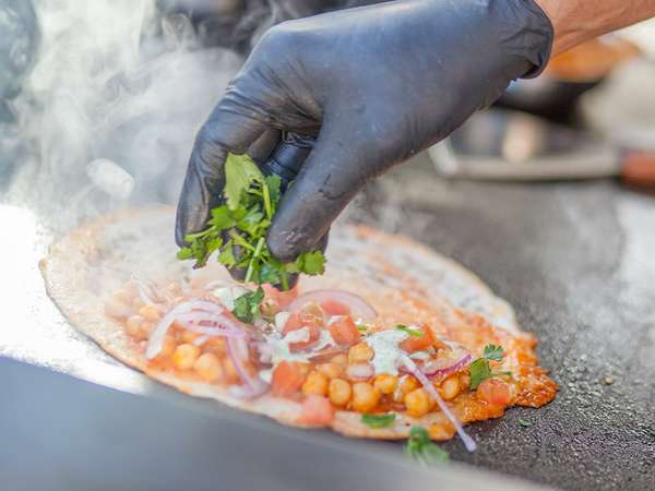 Street Food Event - Kichererbsen-Tortilla
