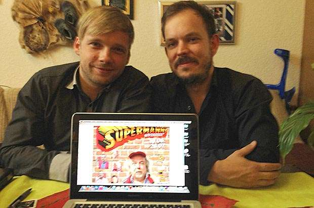 Musiker Christian Karius und KabarettistTobias Hengstmann kennen sich bereits seit 15 Jahren