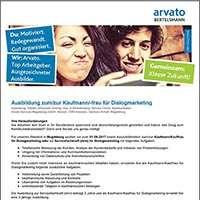 Jobs & Karriere Ausbildung zum/zur Kaufmann/-frau für Dialogmar